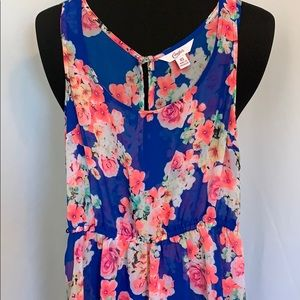 Candies High Low Swim Suit Cover Up or Dress XS